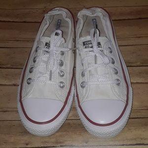 Converse White Shoreline Slip On Sneakers 8